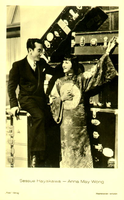 Anna May Wong and Sessue Hayakawa (courtesy of Olivia Su)