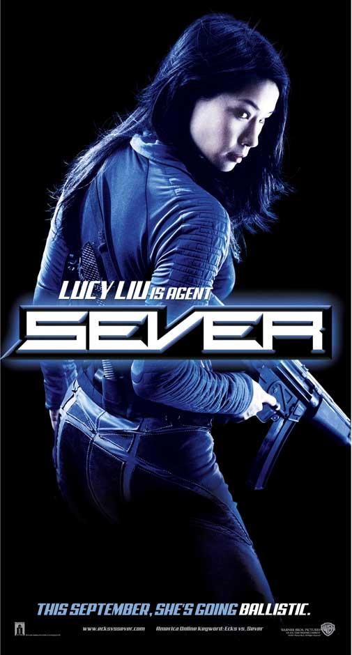 Lucy Liu in Ecks vs. Sever