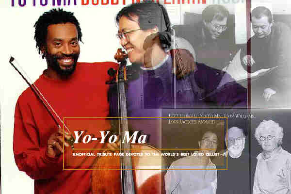 YoYo Ma and Bobby McFerrin